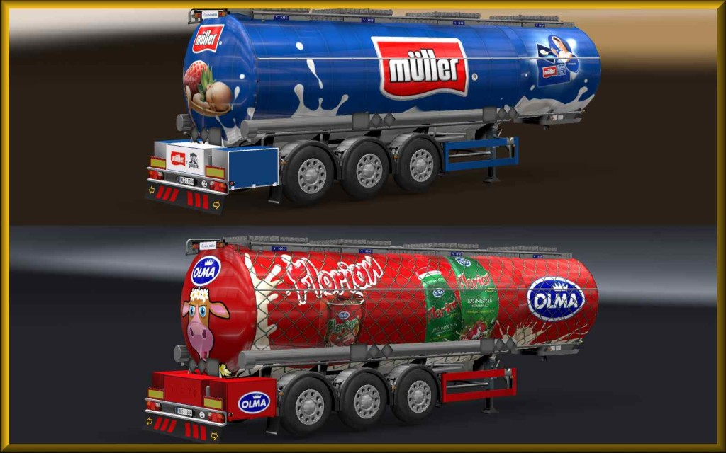 MILK TRAILER SKIN PACK2