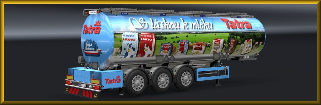 MILK TRAILER SKIN PACK3