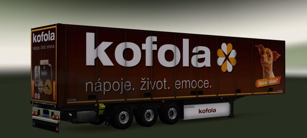 Trailer Pack Fridge Kofola 1.262