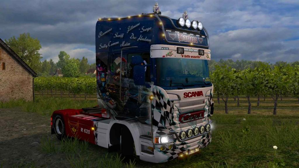 Scania RJL Barlera skin