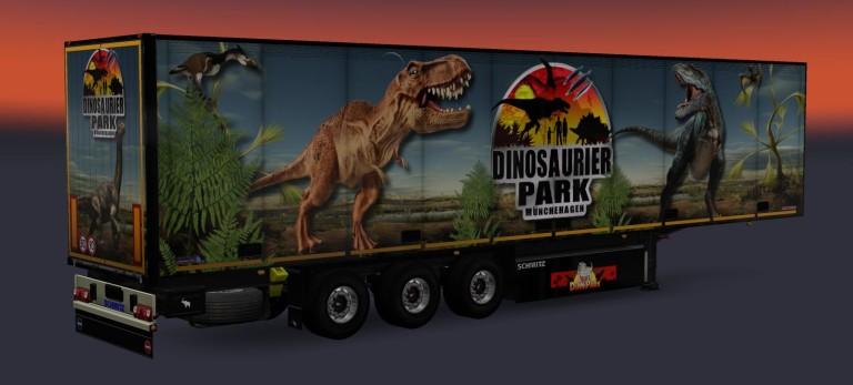 Trailer Fridge Dino