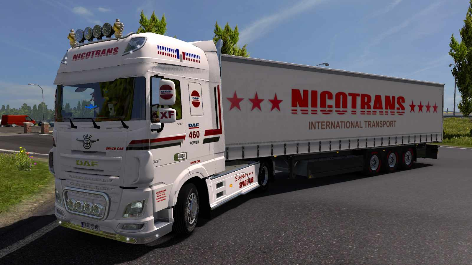 Combo Daf E6 Nicotrans /upgrade/