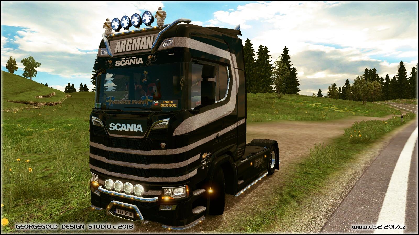 Scania S NG Argman