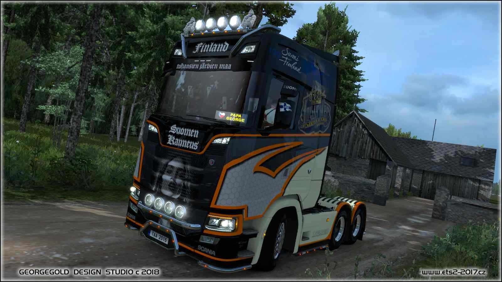Scania S NG LowRider