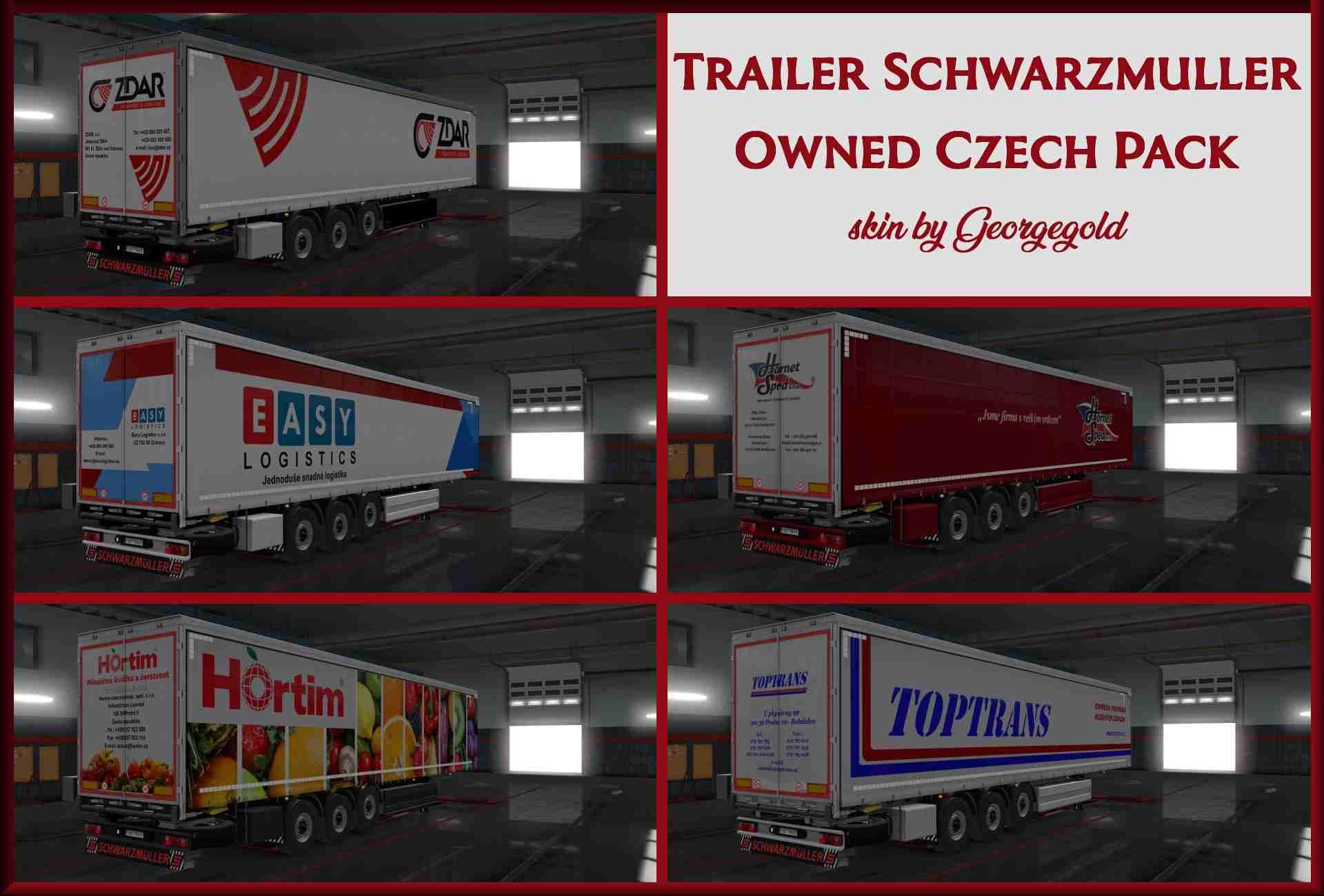 Trailer Schwarzmuller Owned Czech Pack