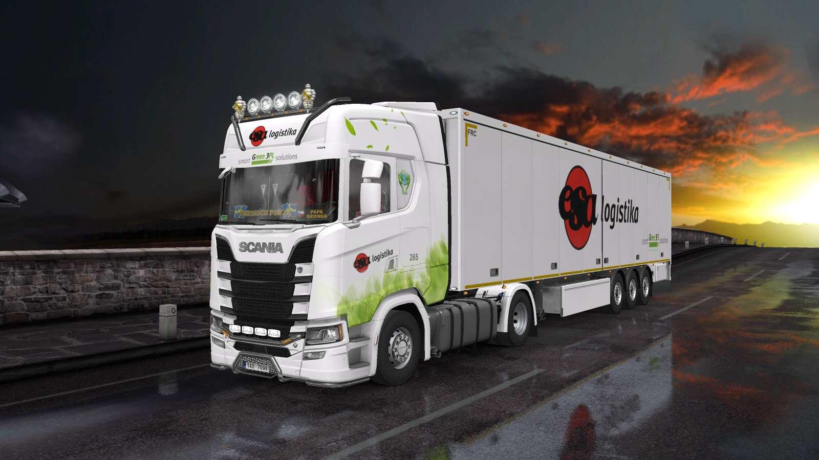 Combo Scania S NG Esa Logistika /upgrade/