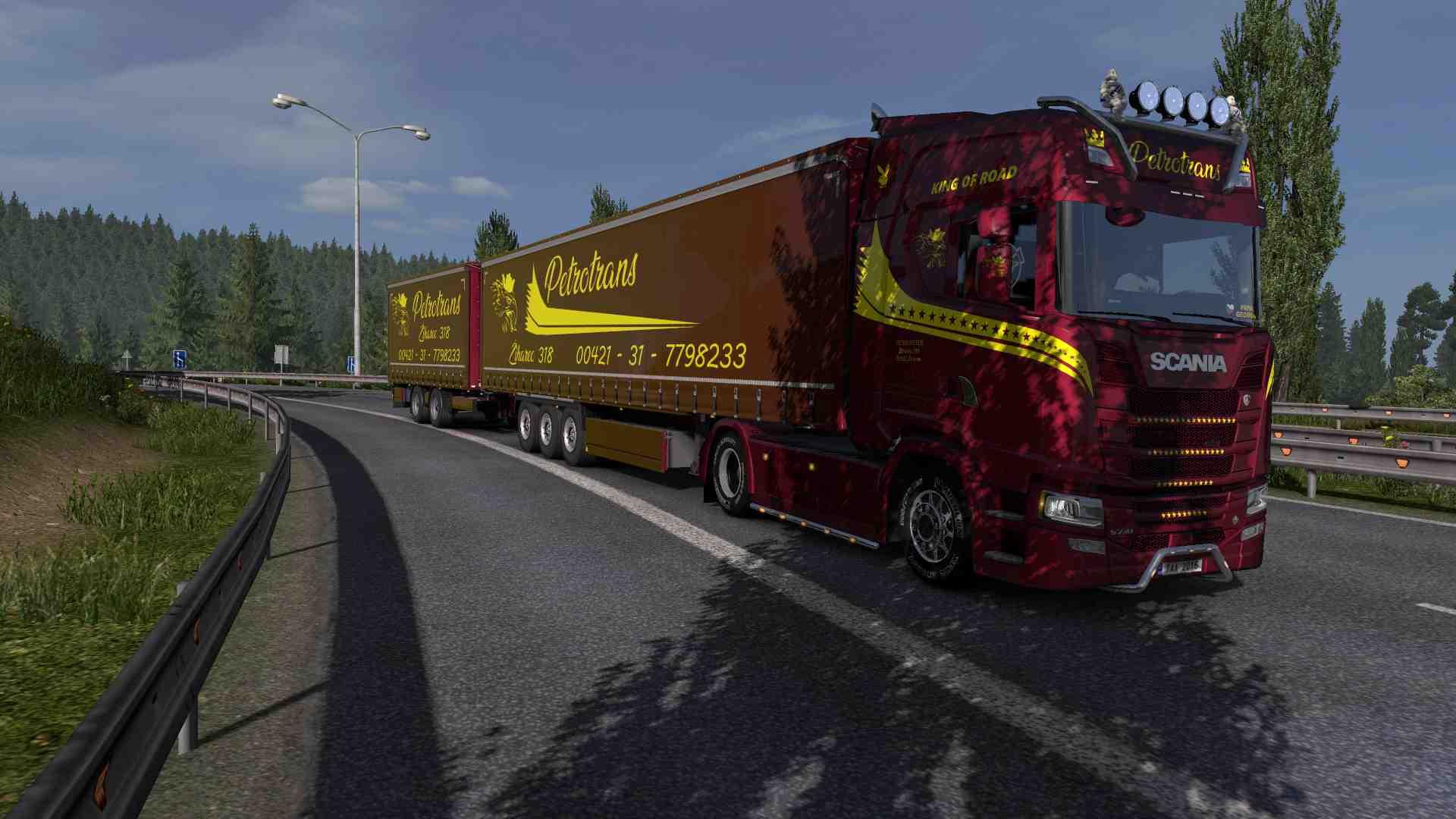 Combo Scania S NG Petrotrans