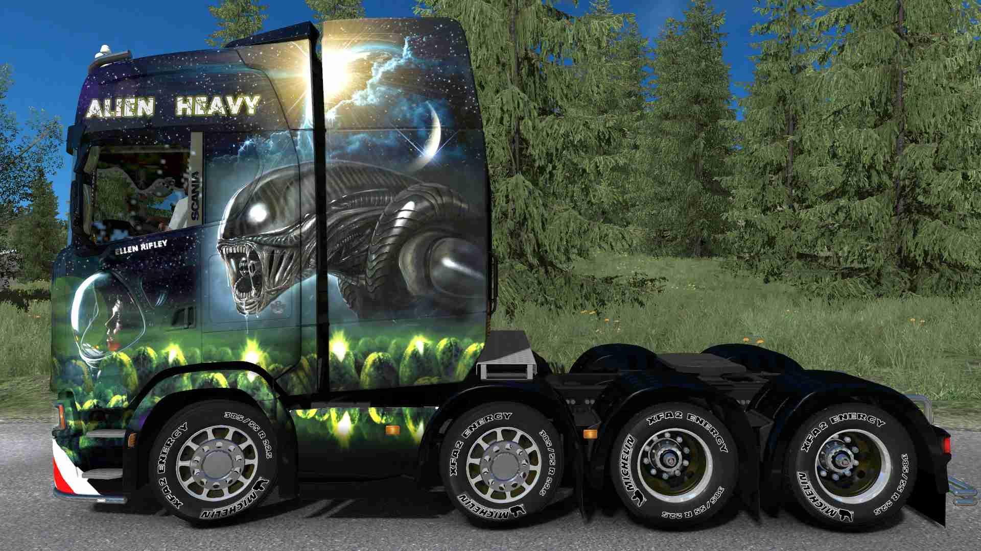 Scania S NG Alien Heavy