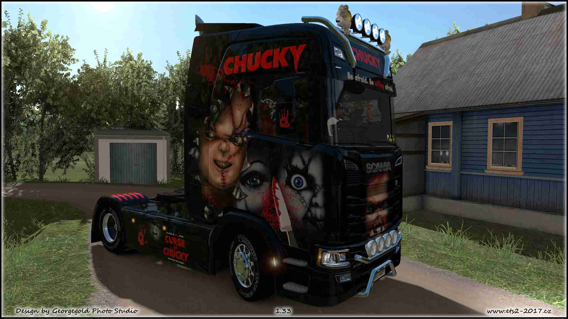Scania S NG Chucky