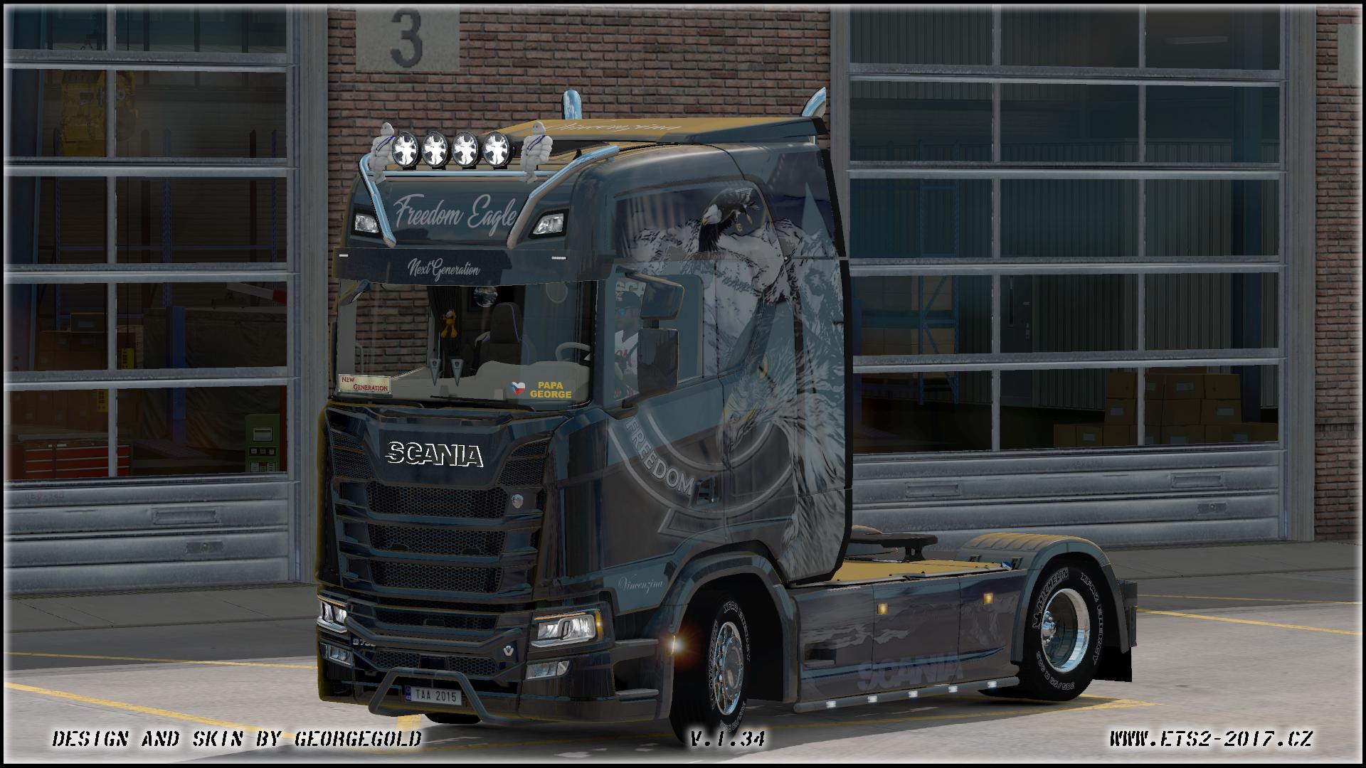 Scania S NG Freedom Eagle