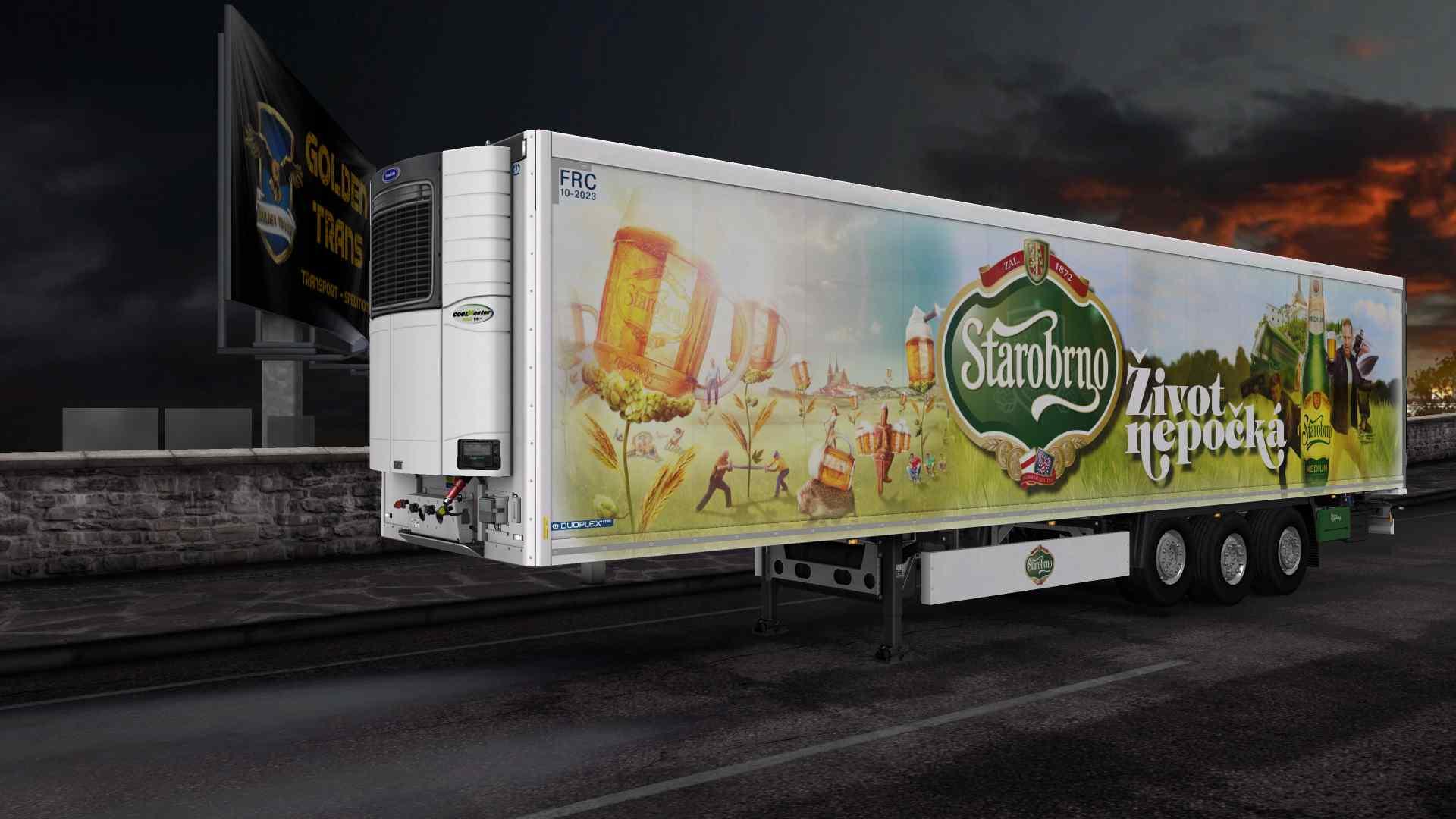 Trailer Krone Coolliner Owned Beer Pack