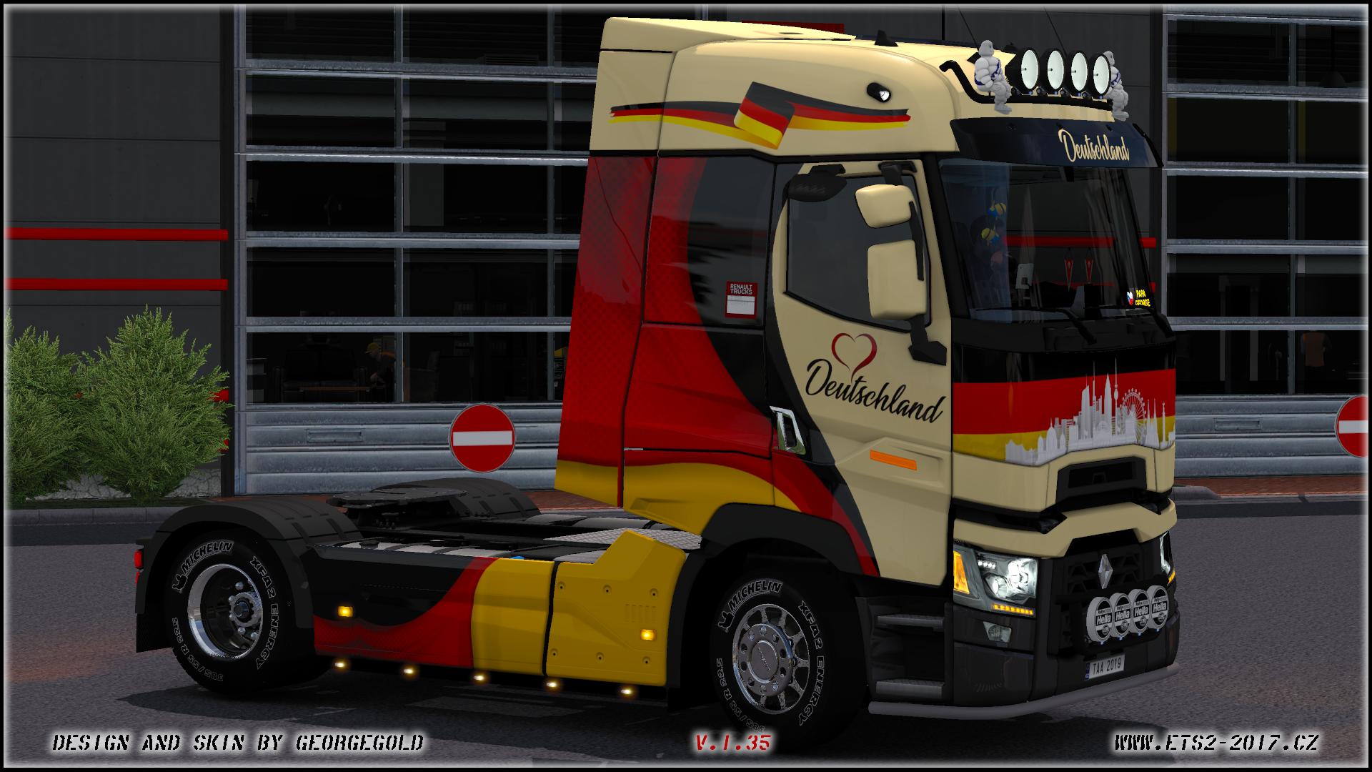 Renault T SCS Deutschland