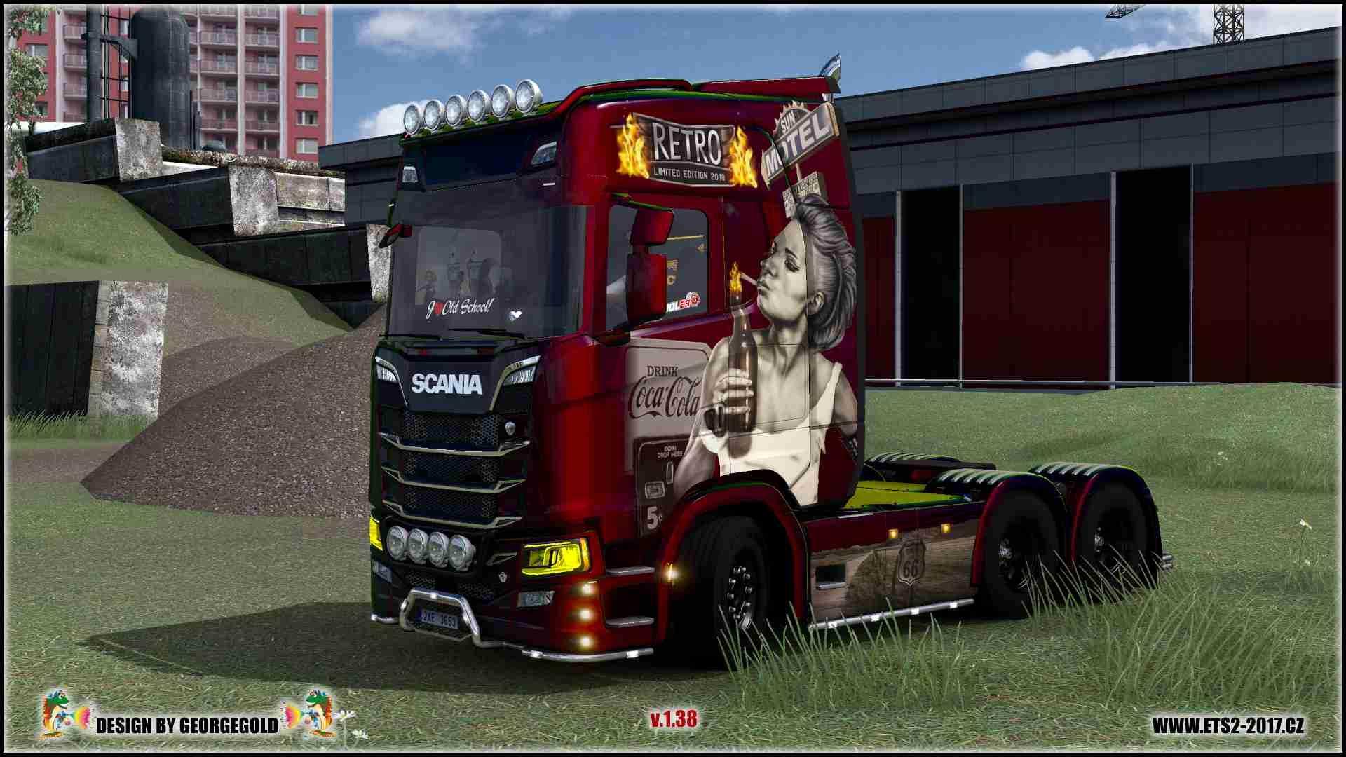 Scania S NG Retro Metallic