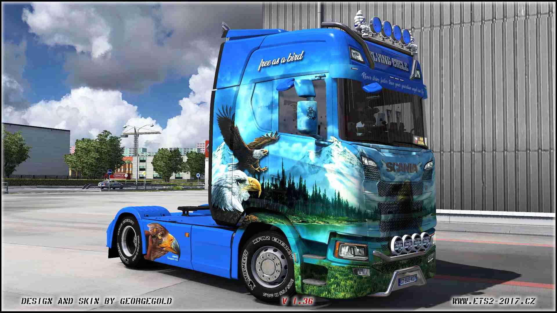 Scania S NG Flying Eagle