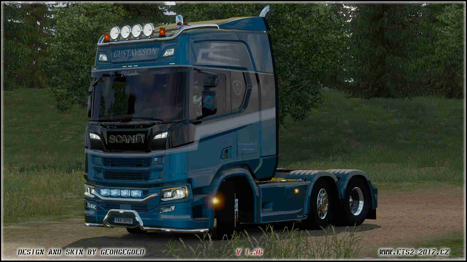 Scania R NG Gustavsson