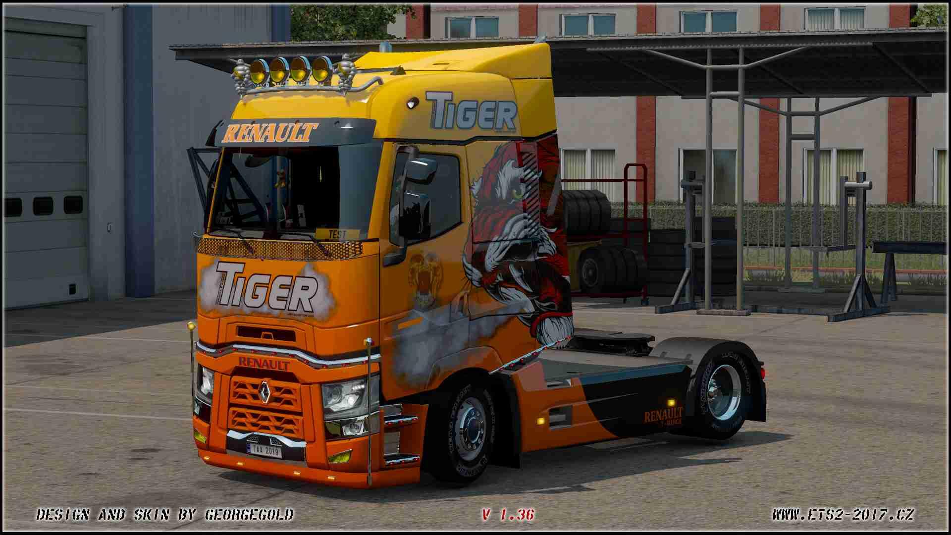 Renault T SCS Tiger