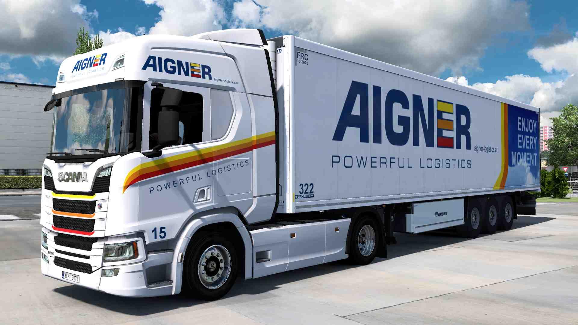 Combo Scania R NG Aigner