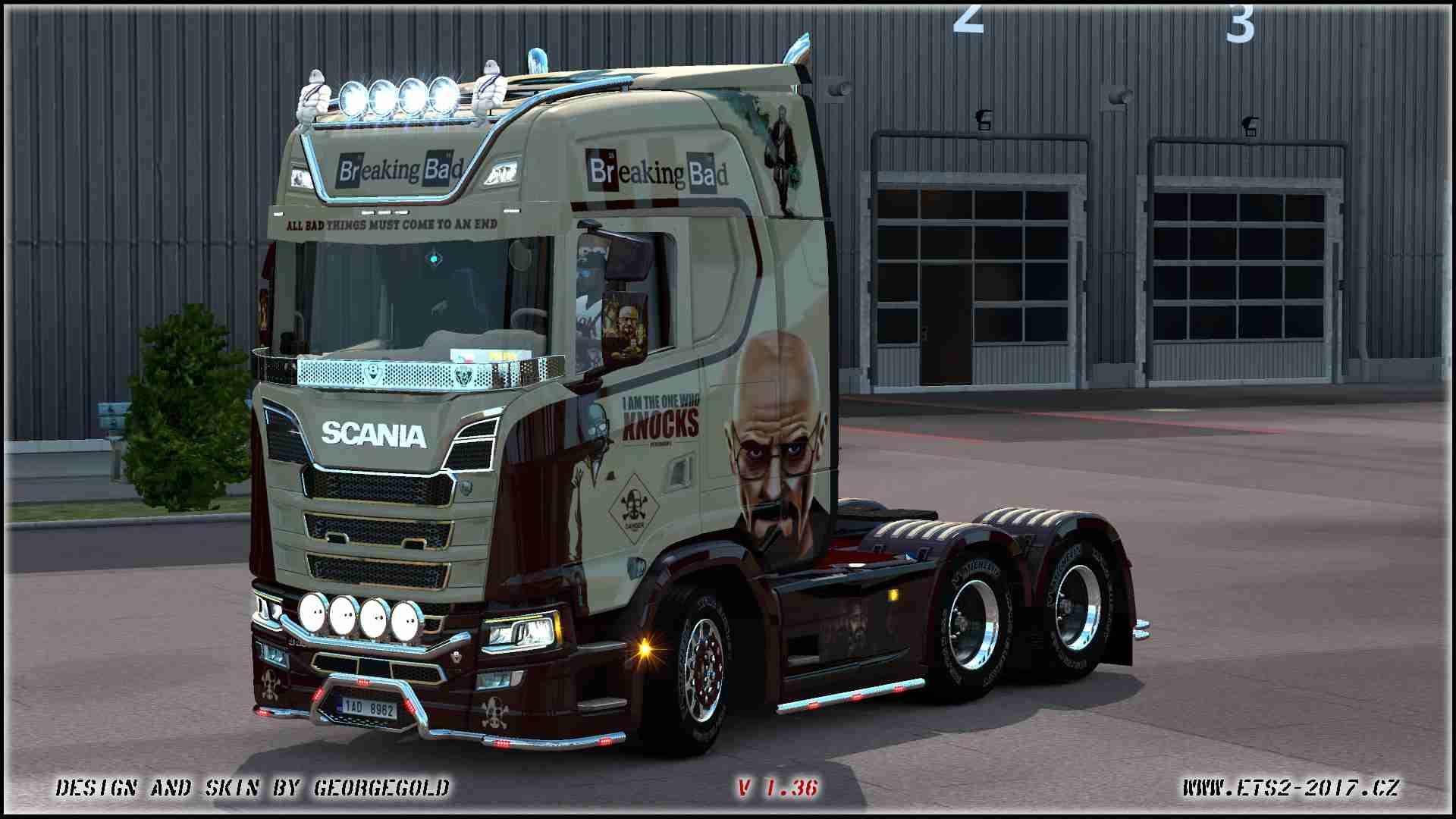 Scania S NG Breaking Bad
