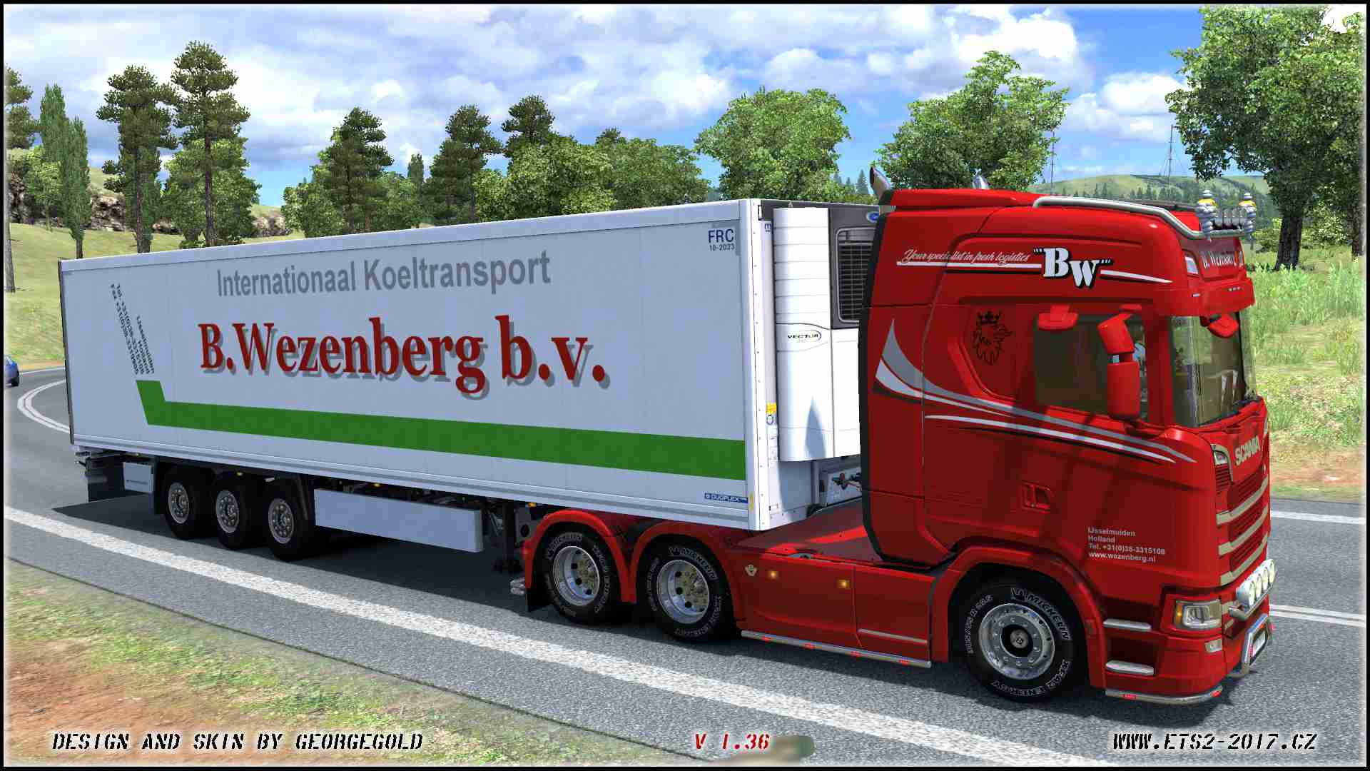 Combo Scania S NG Wezenberg