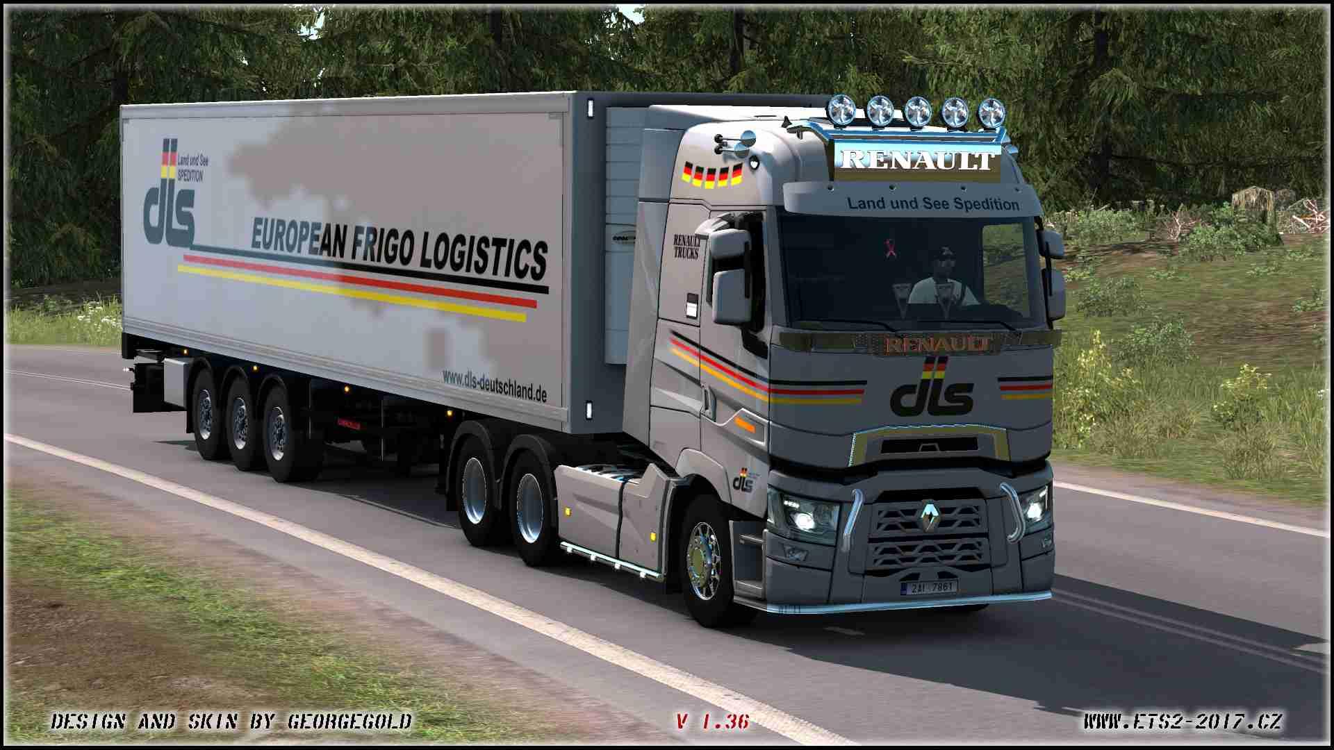 Combo Renault T SCS DLS Logistics