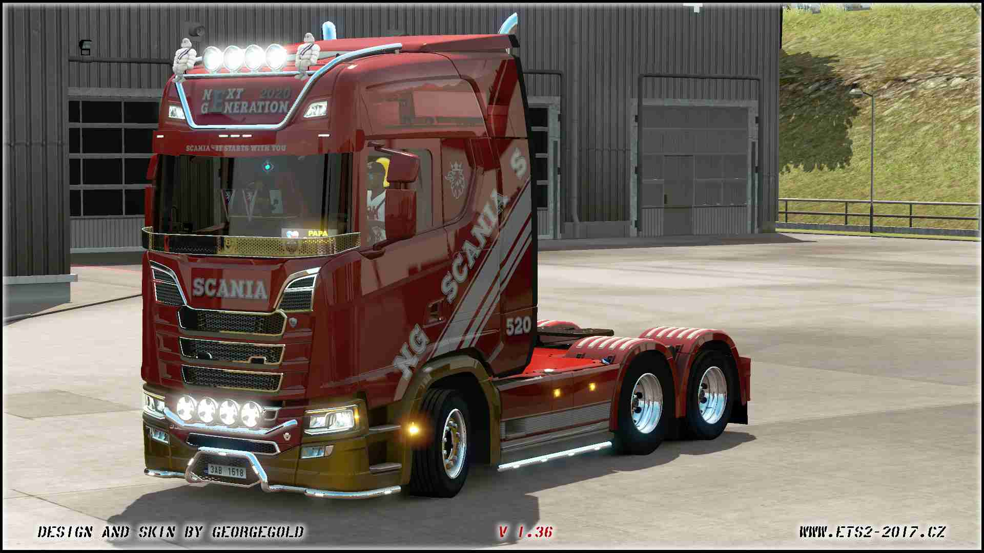 Scania S NG White Lines