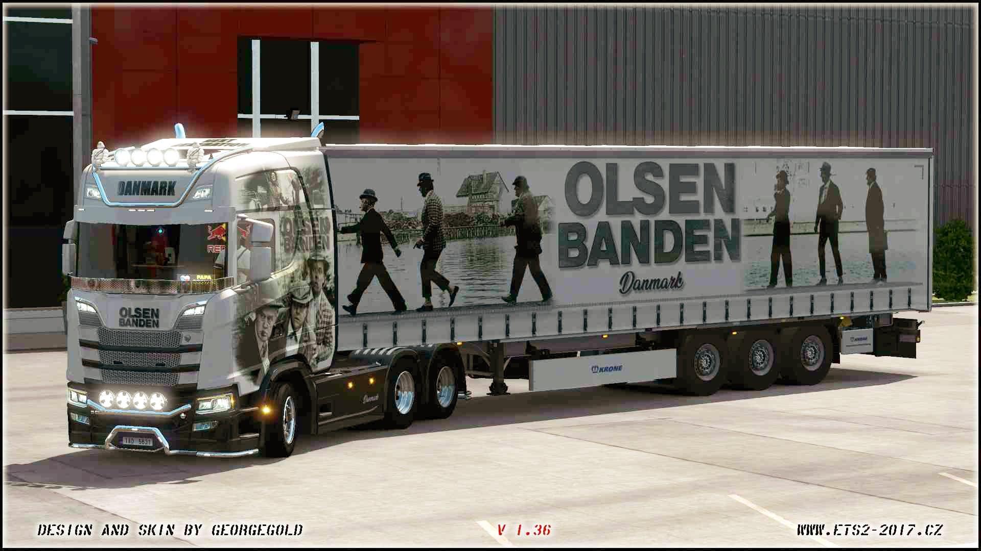 Combo Scania S NG Olsen Banden
