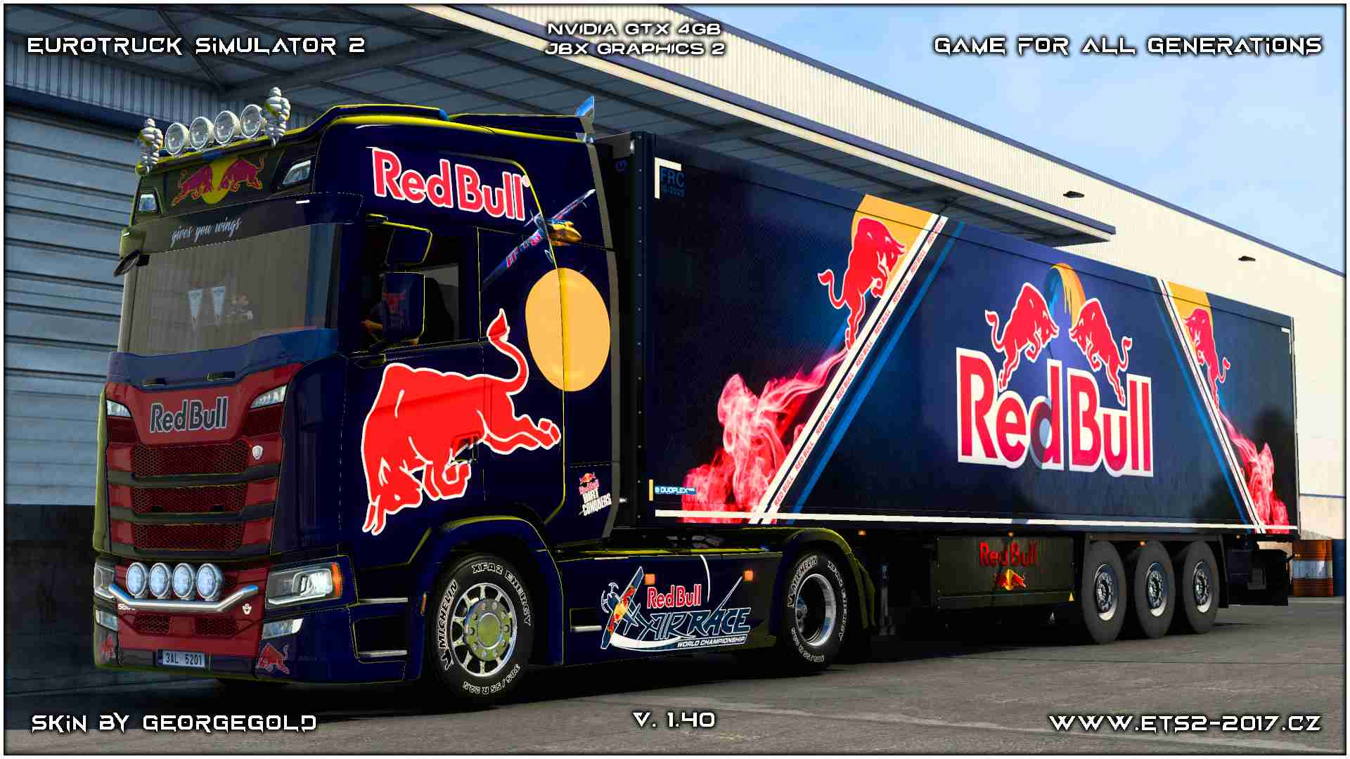 Combo Scania S NG Red Bull Metallic 1+2