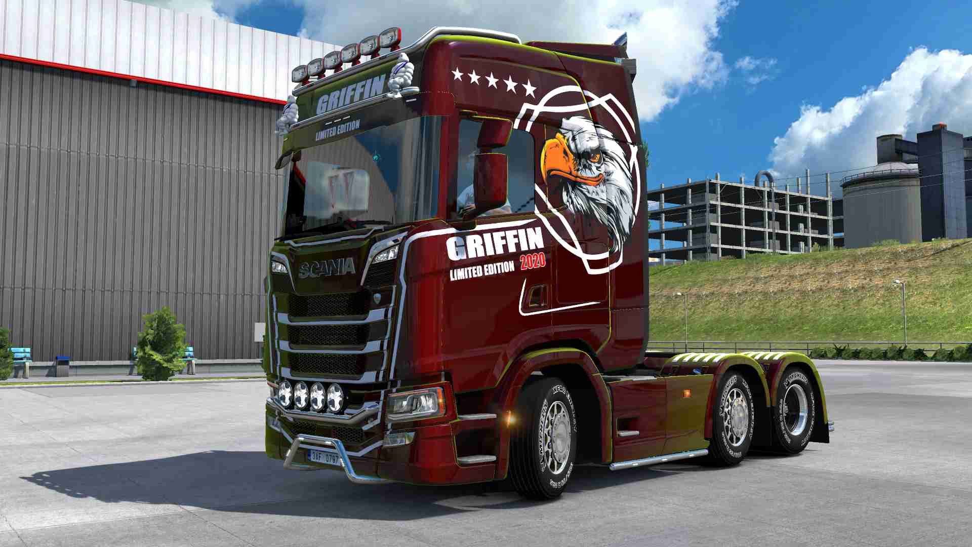 Scania S NG Griffin