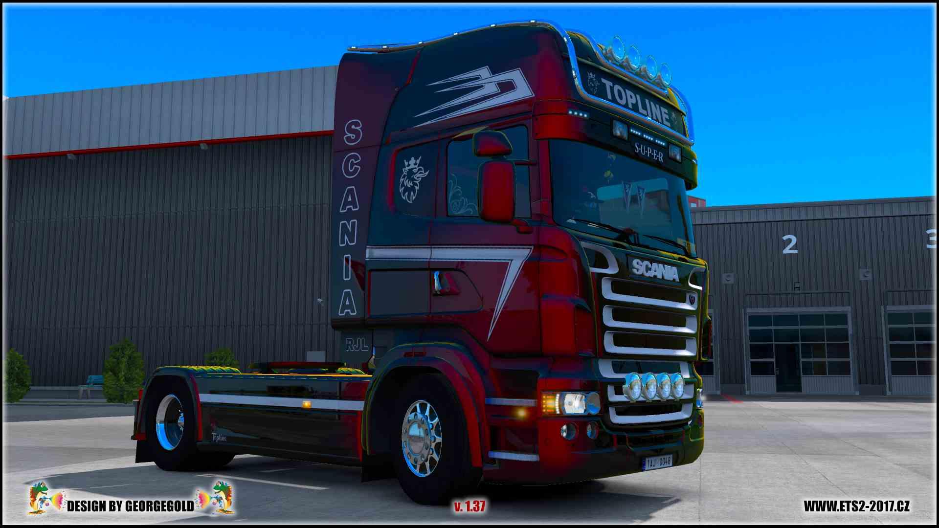 Scania RJL Topline Design /metallic/
