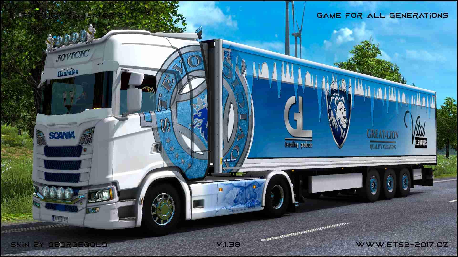 Combo Scania S NG Stevo Jovicic /2+1/