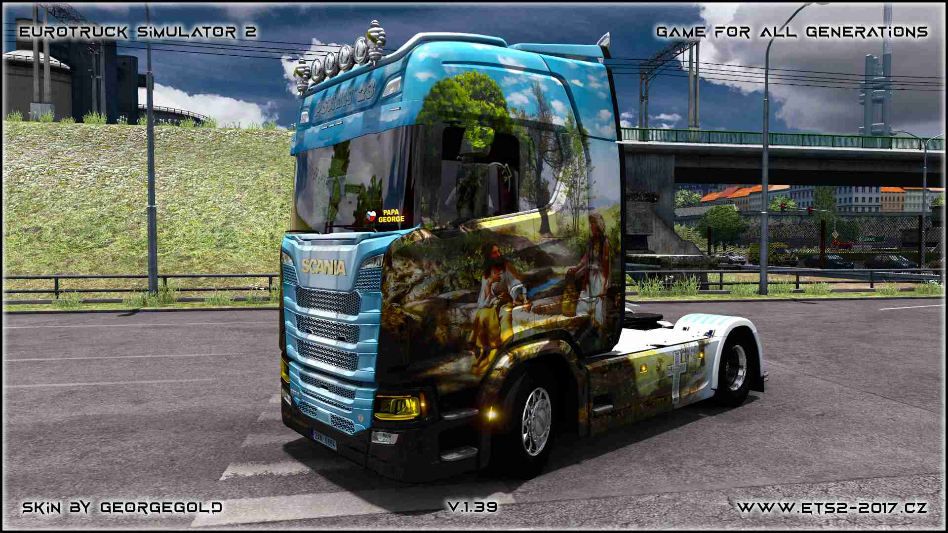 Scania S NG Psalm 23