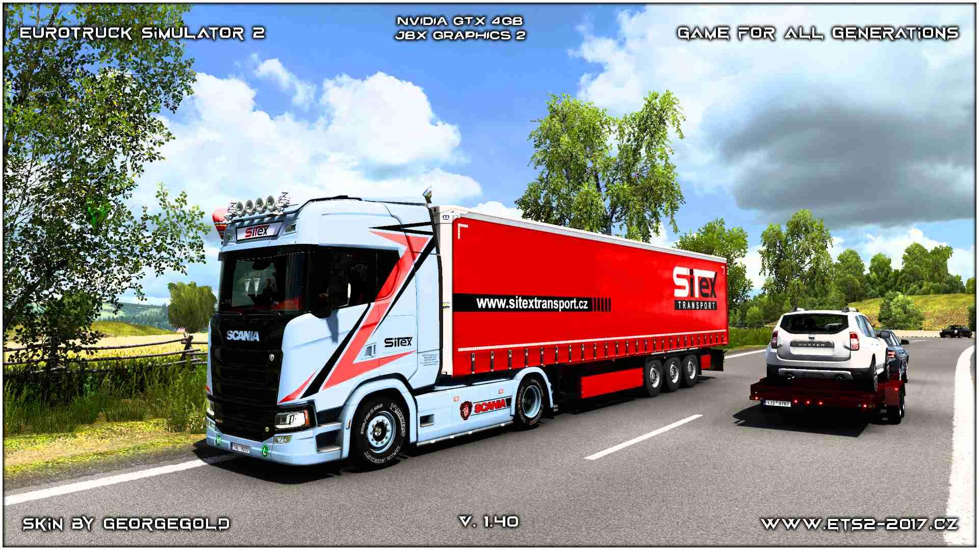 Combo Scania S NG Sitex
