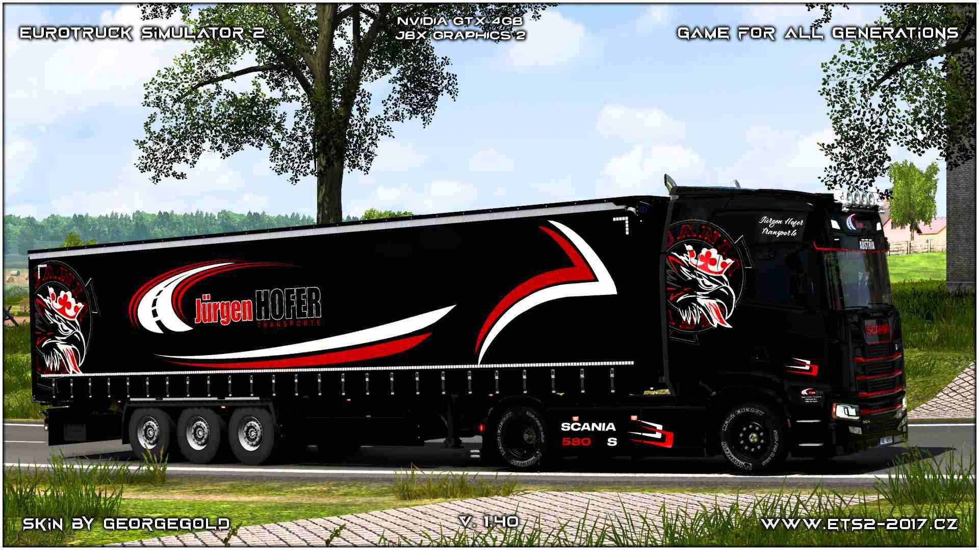 Combo Scania S NG Jurgen Hofer