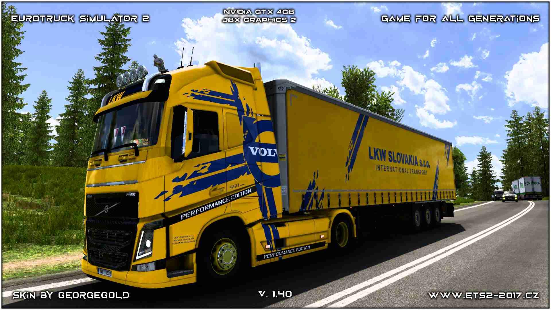 Combo Volvo FH 2012 LKW Slovakia