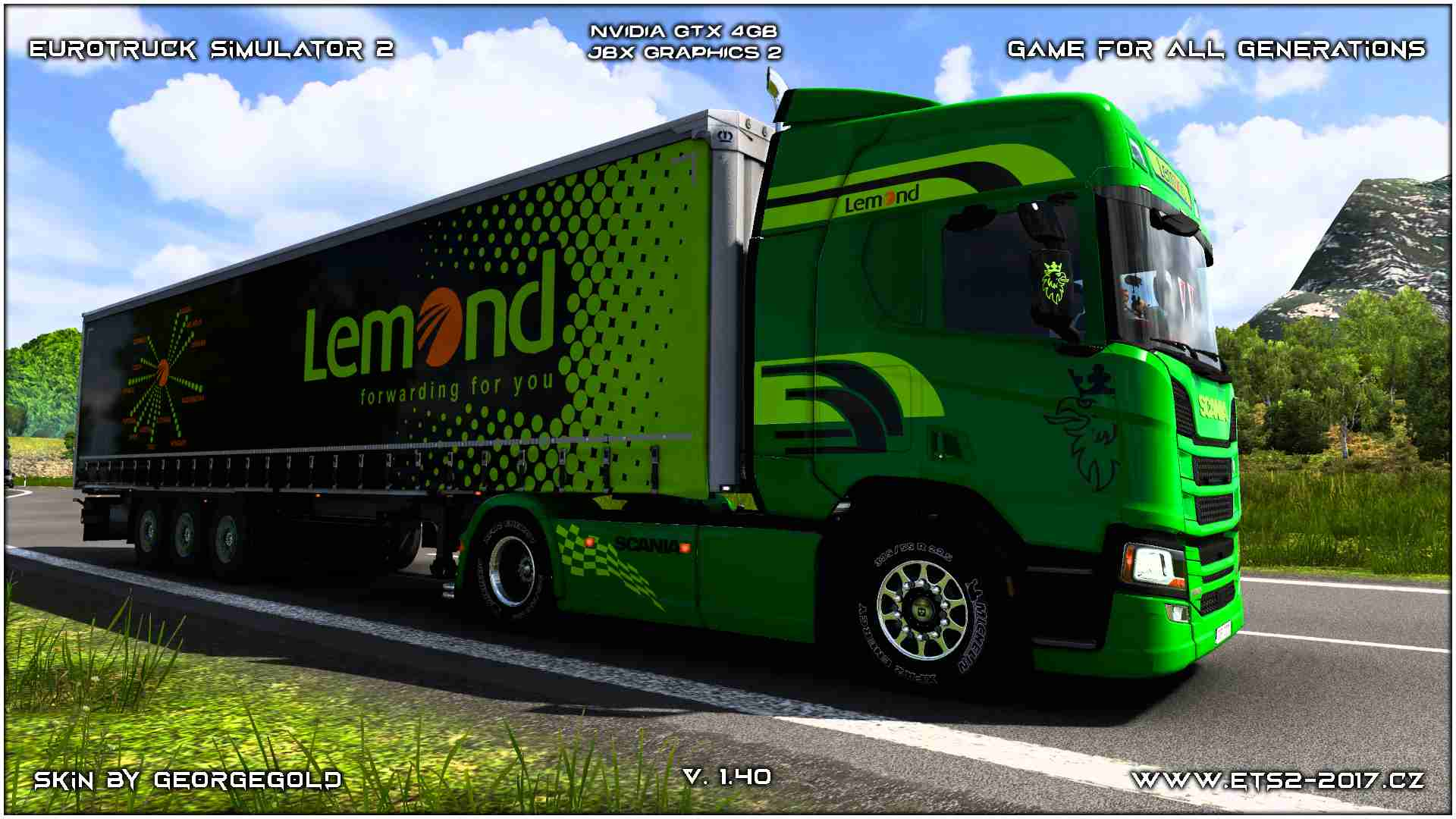 Combo Scania R NG Lemond