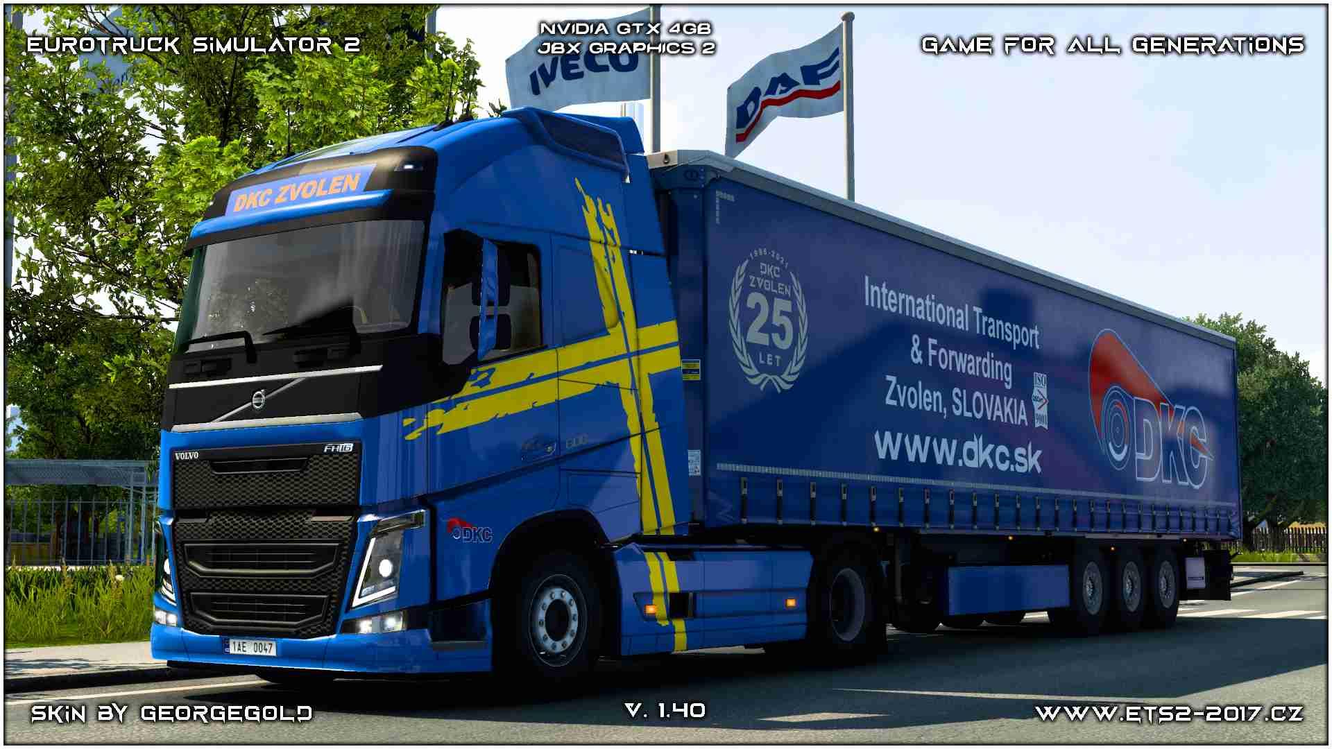 Combo Volvo FH 2012 DKC Zvolen