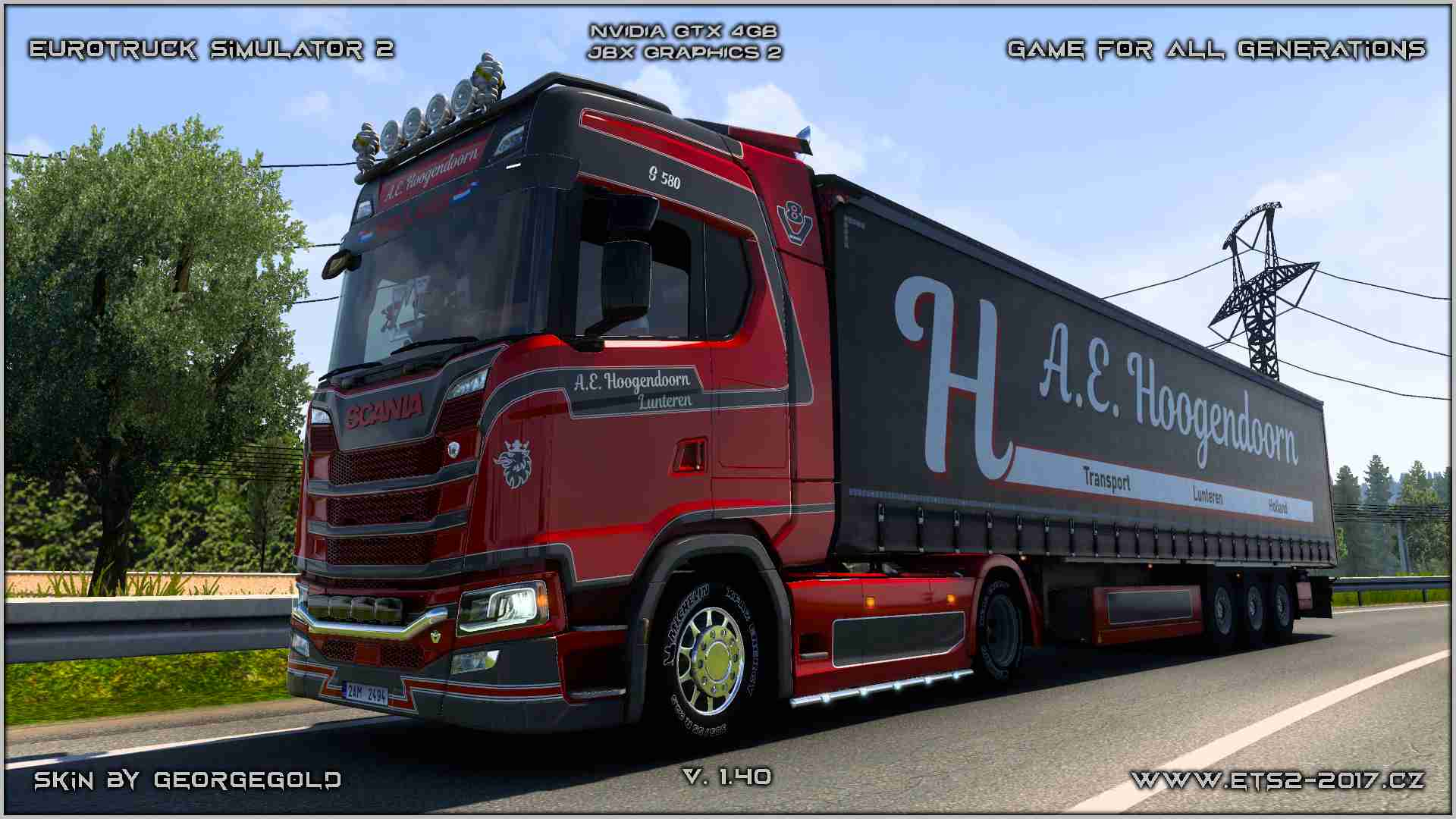 Combo Scania S NG Hoogendoorn