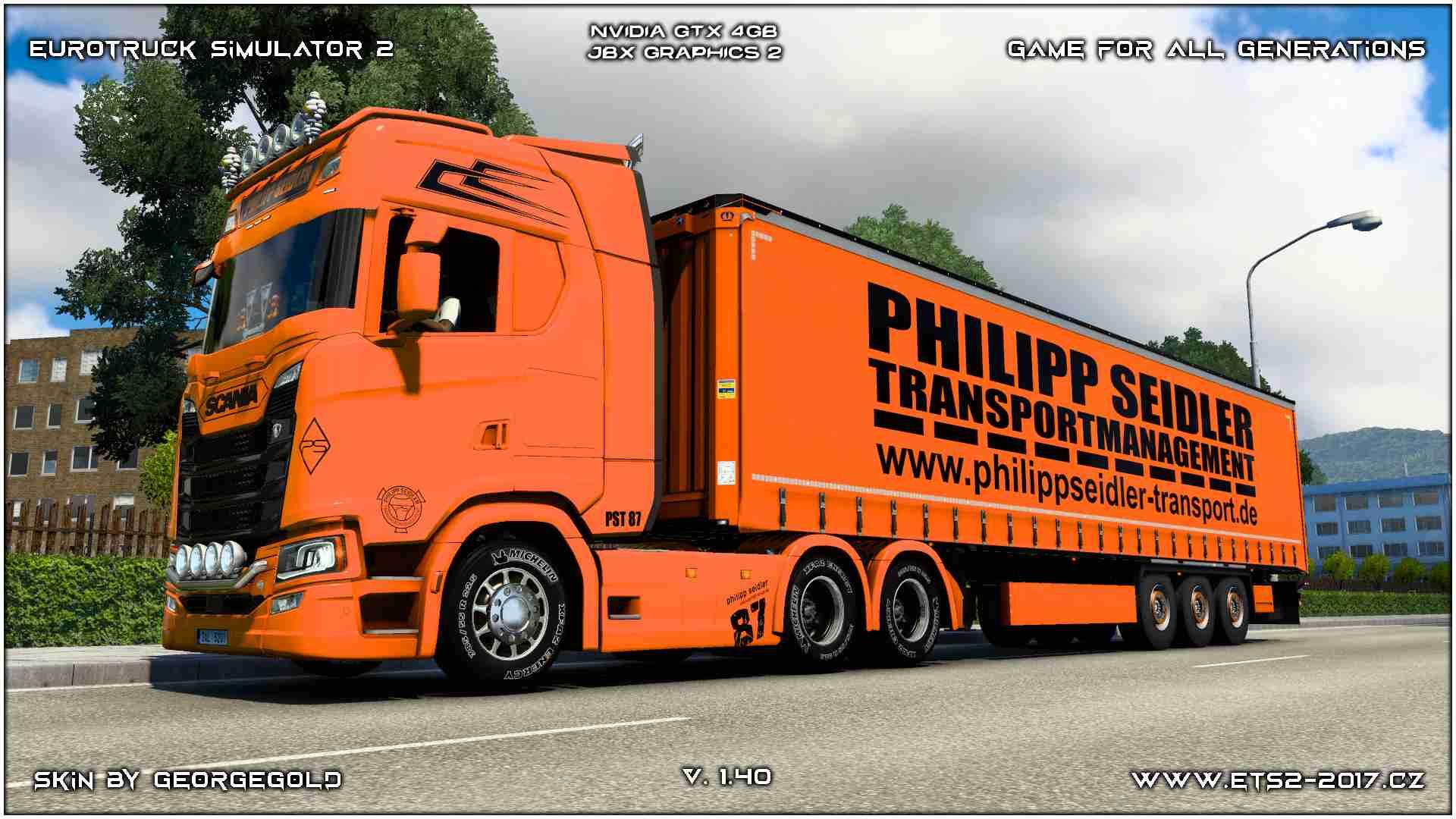 Combo Scania S NG Philipp Seidler