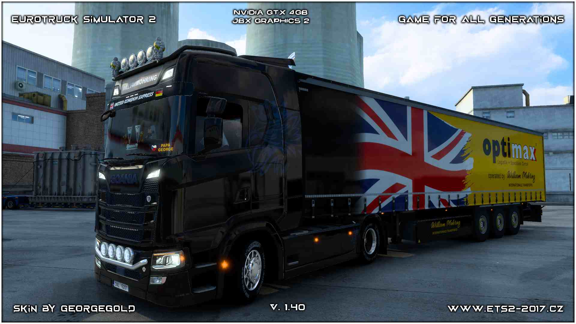 Combo Scania S NG William Mohring 1+2