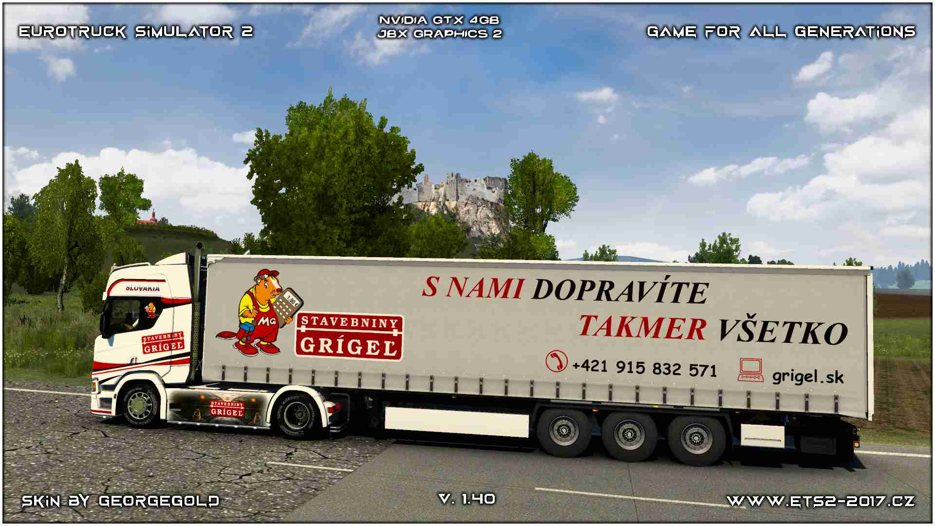 Combo Scania R NG Grigel