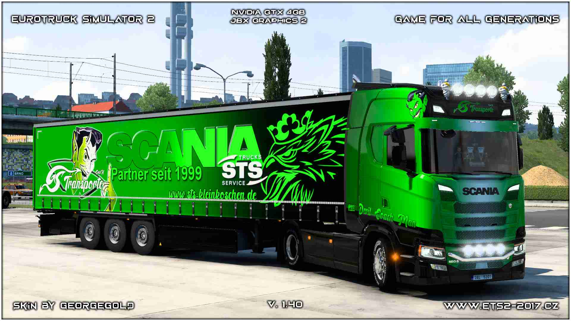Combo Scania S NG GS Transporte 1+2