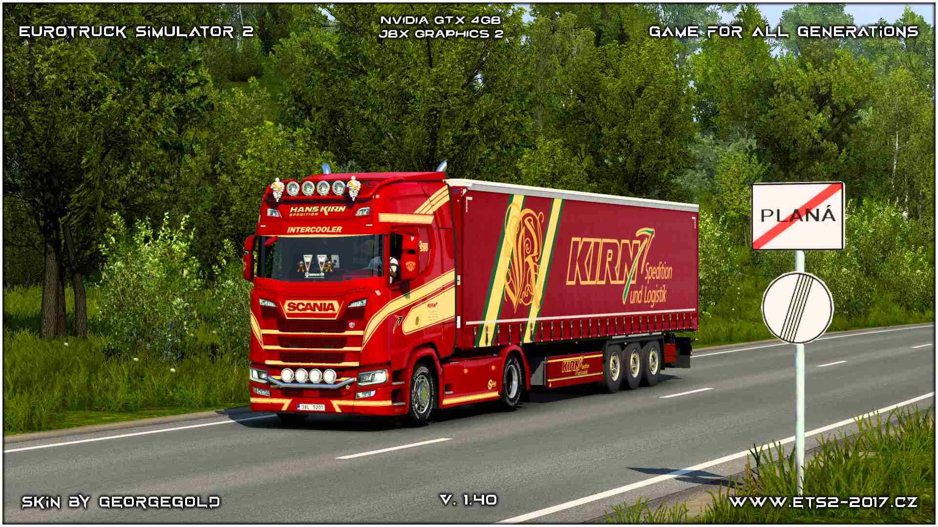 Combo Scania NG S Kirn Spedition
