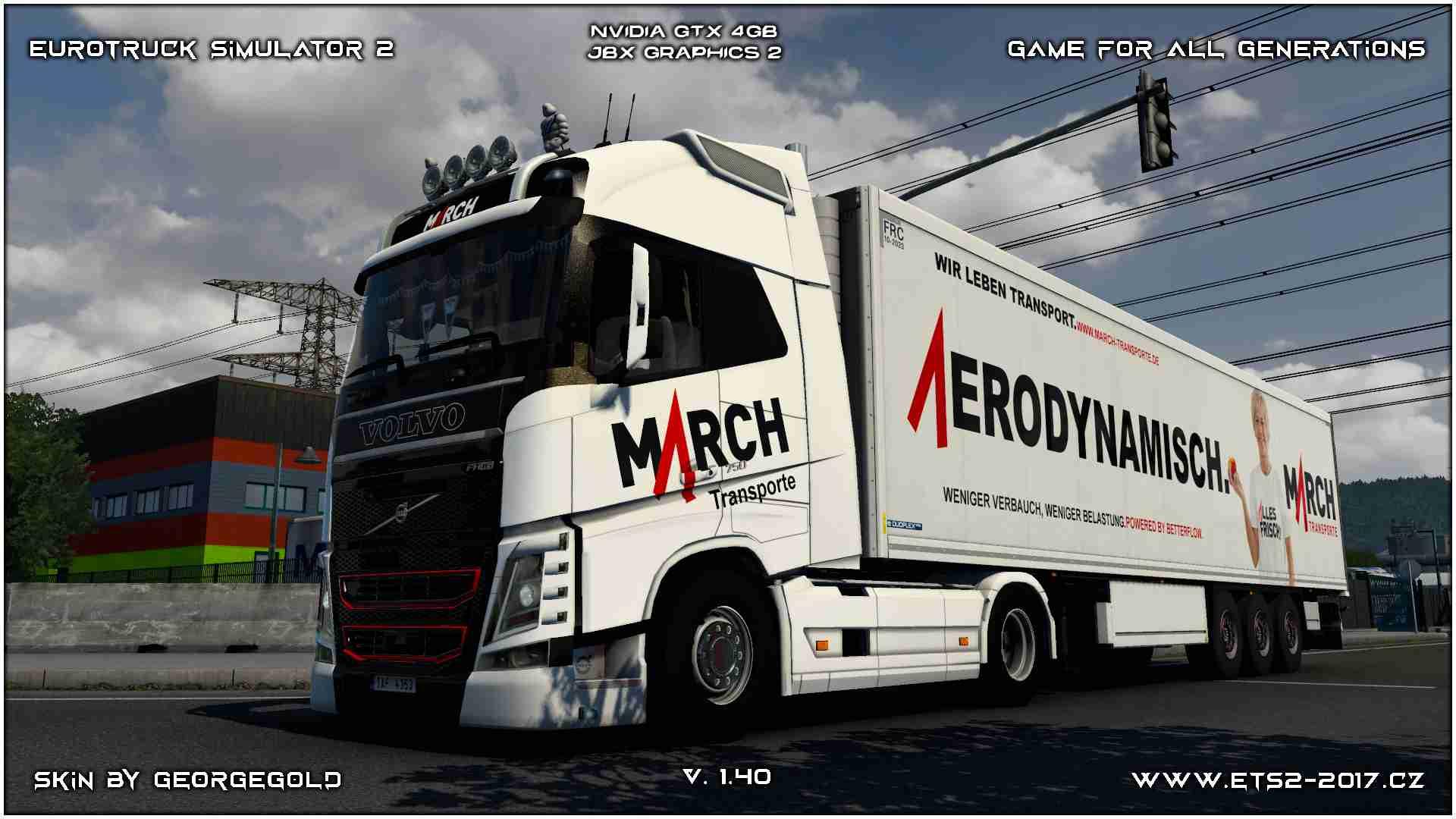 Combo Volvo FH 2012 March Transporte