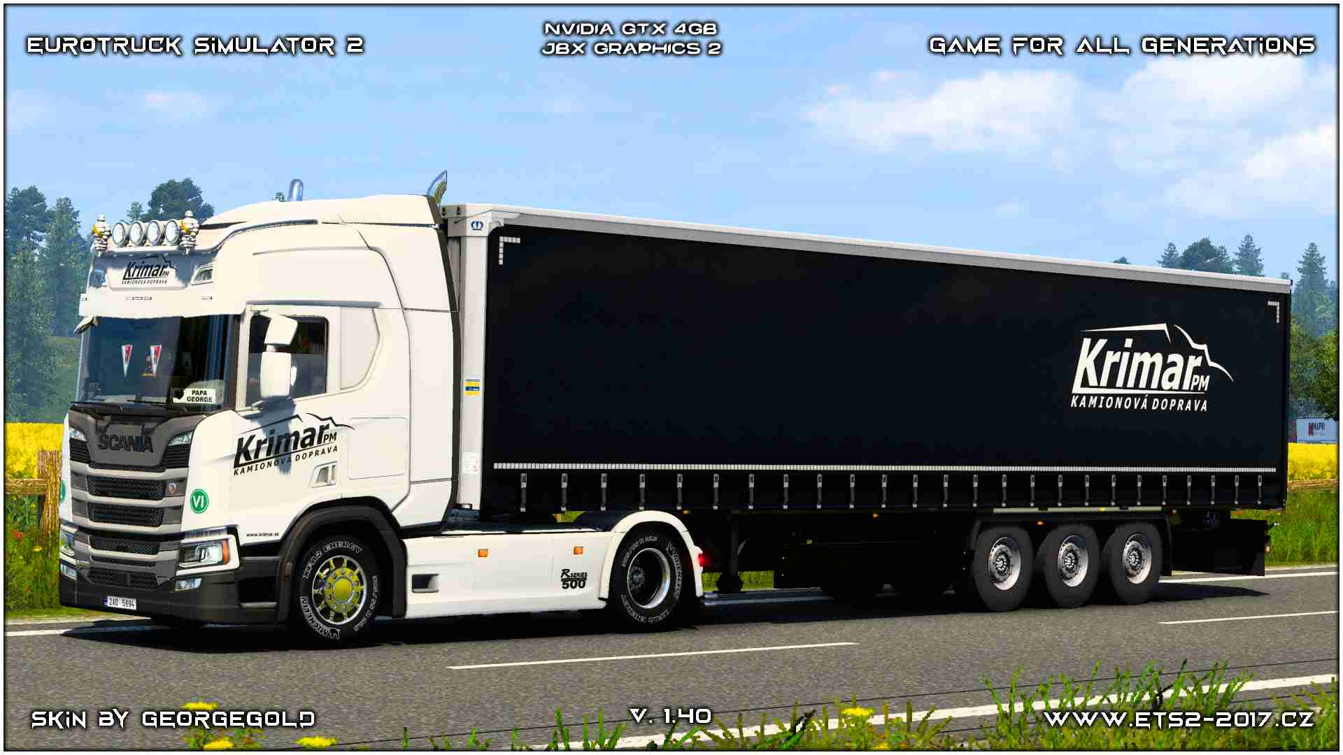 Combo Scania R NG Krimar PM