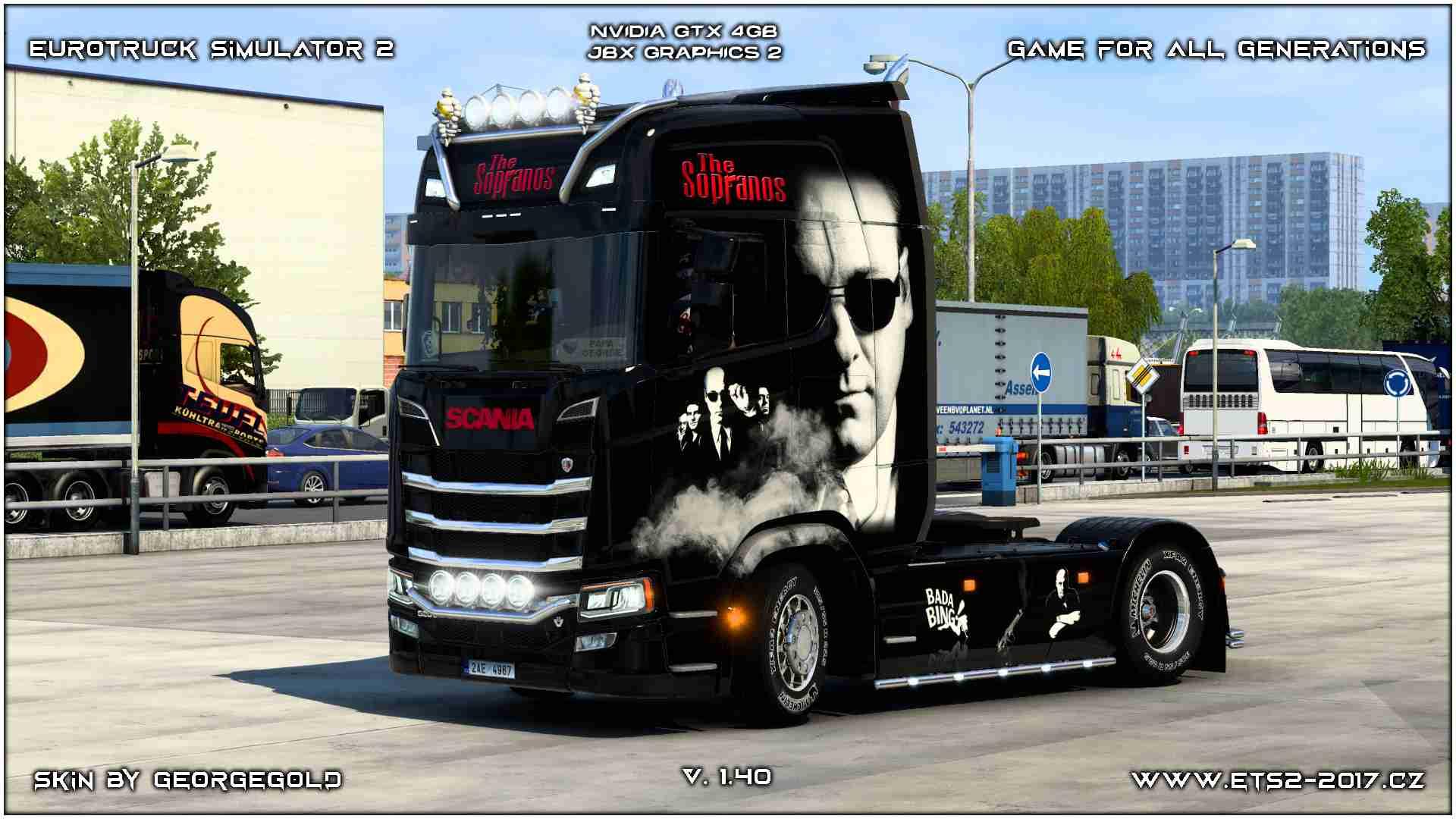 Scania S NG Sopranos