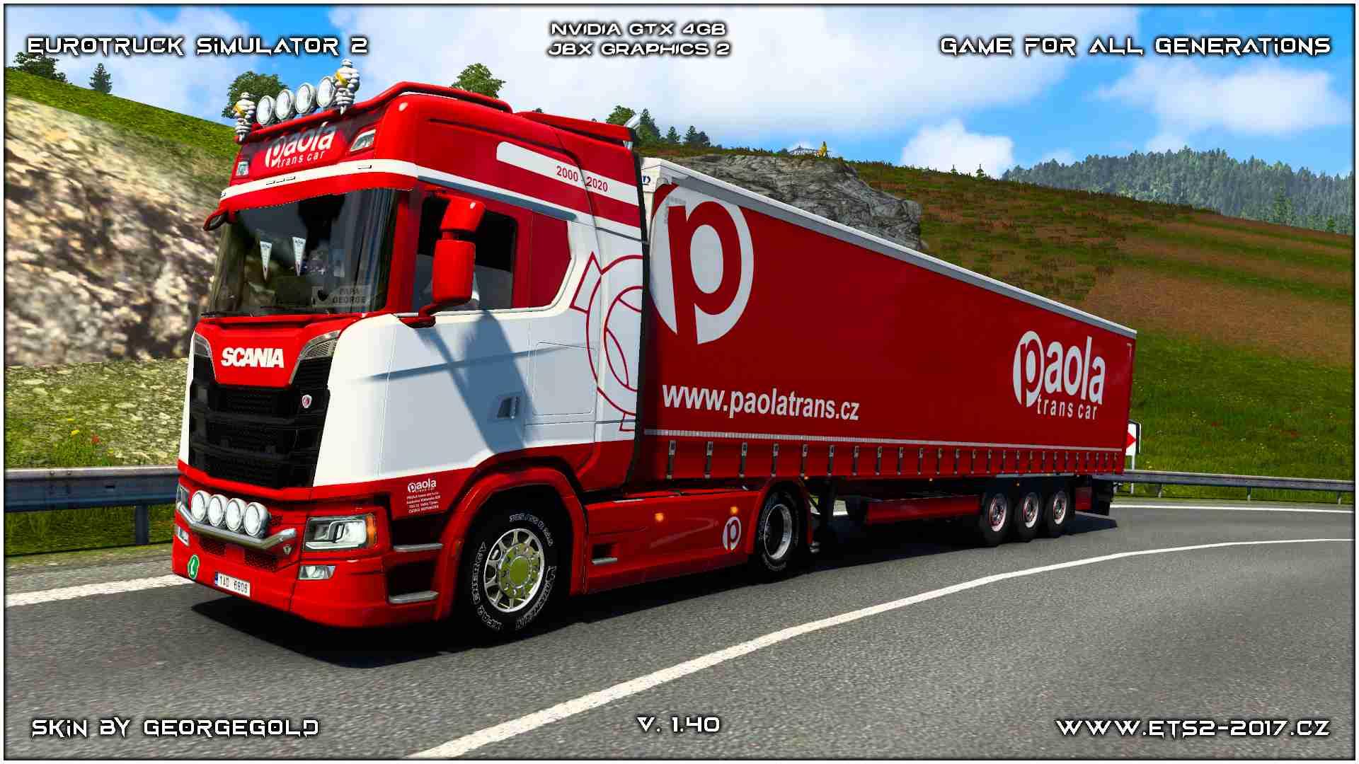 Combo Scania S NG Paola Trans