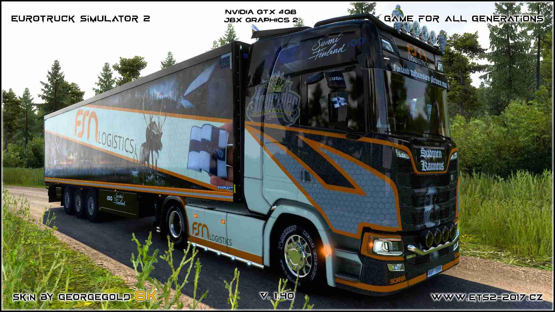 Combo Scania S NG FSN Logistics