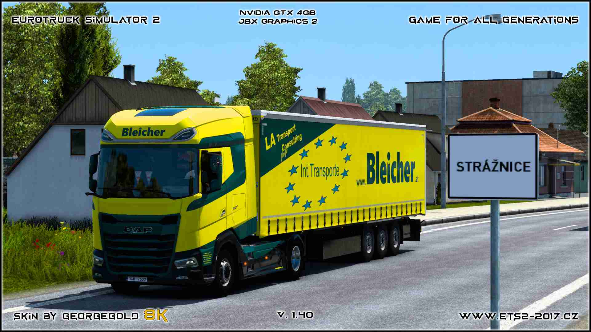 Combo DAF XG Bleicher Transporte