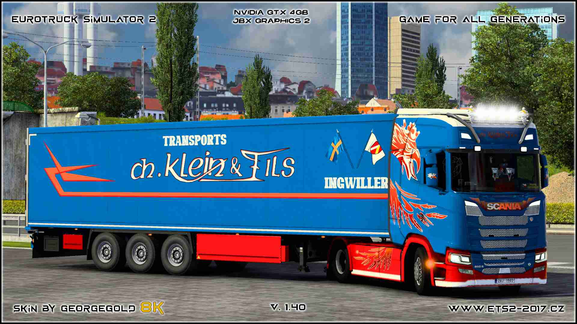 Combo Scania S NG Klein & Fils