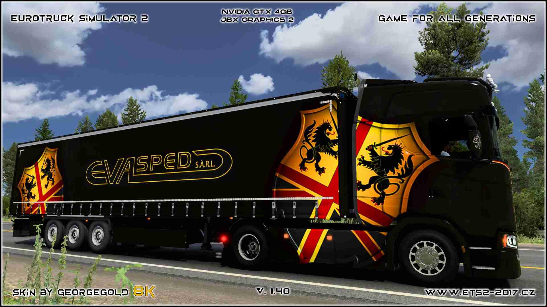 Combo Scania S NG Eva Sped